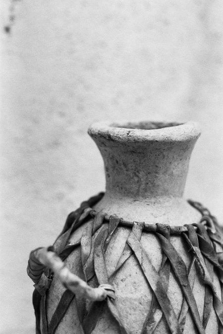 Vintage Found by Fourth Antique Paper Mache Vase