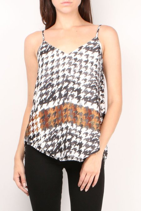 Brochu Walker Eyres Cami - Houndstooth