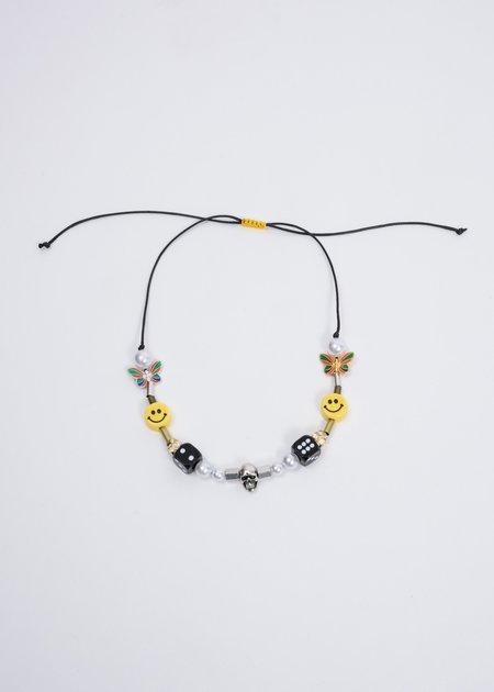 EVAE Smiley Pearl Necklace