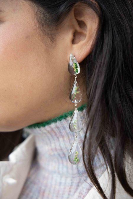 Tuza Perpetual Drop Earrings