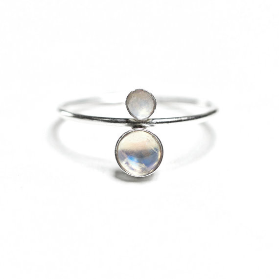 Hart + Stone Terra Lacuna Moonstone Ring