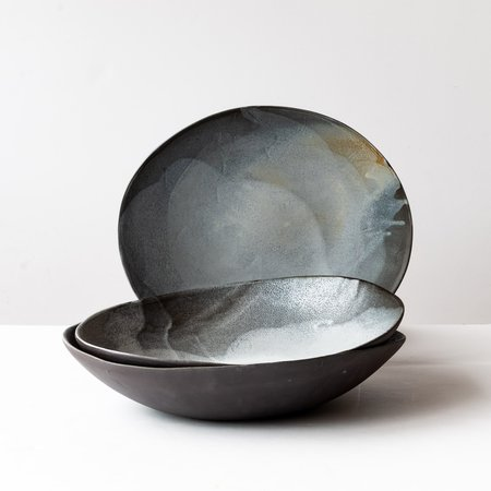 Mie Ceramics Stoneware Saladier - Black