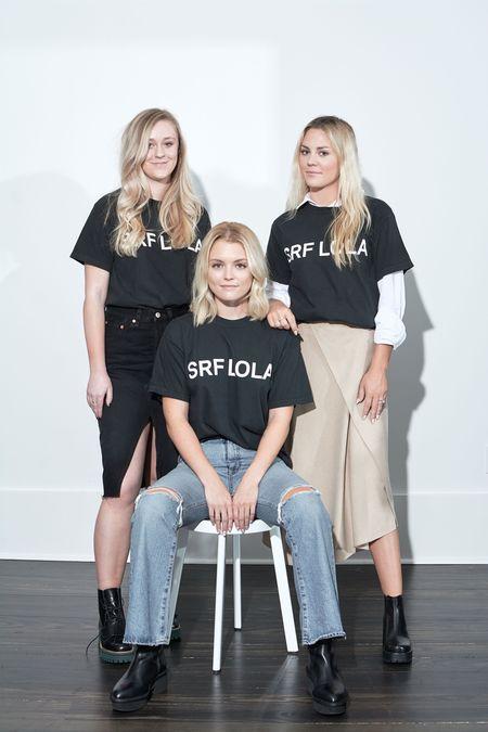 Heidi Merrick SRF LOLA Tee - Black