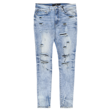 Jordan Craig Denim With Bleach And Splatter - Mojave