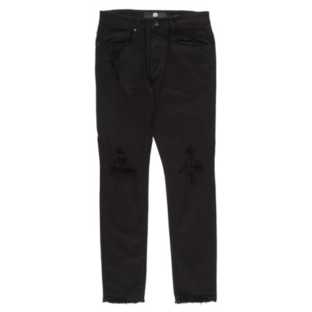 Jordan Craig Denim With Open Rip - Jet Black