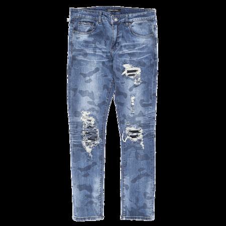 Embellish Mathewson Rip And Repair Jeans
