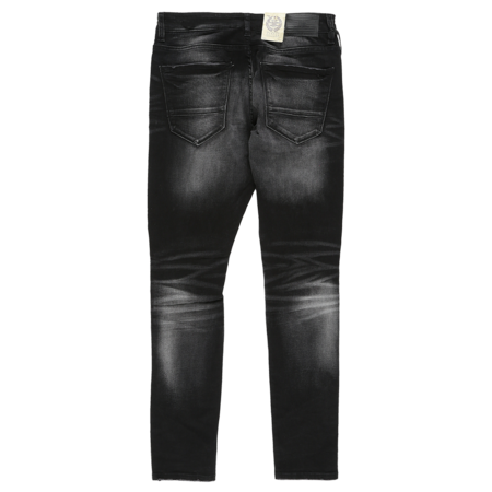 Jordan Craig Open Rip New Wash Jeans - Black Shadow