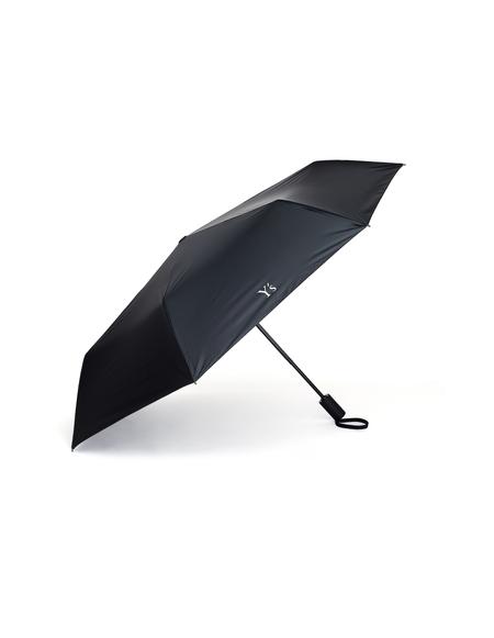 Y's Logo Printed Umbrella - Black