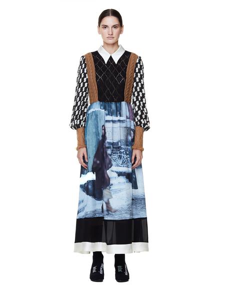 Undercover Suspirium Printed Dress - Grey