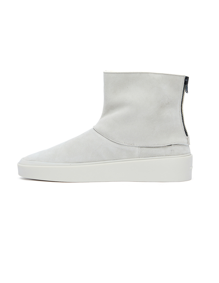 Fear of God Polar Wolf Shearling High Boots - Grey