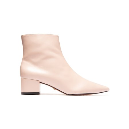 L'Intervalle Rome Boots - Nude Leather