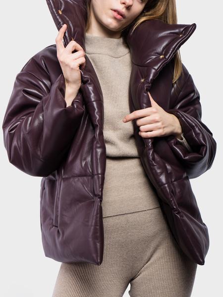 Nanushka Hide Vegan Leather Puffer