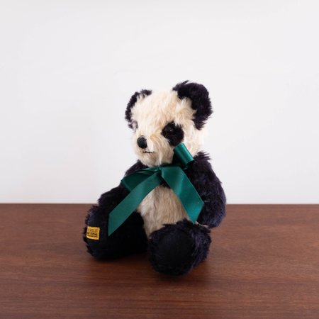 Kids Merrythought Makers Classic Panda Doll - Green Ribbon