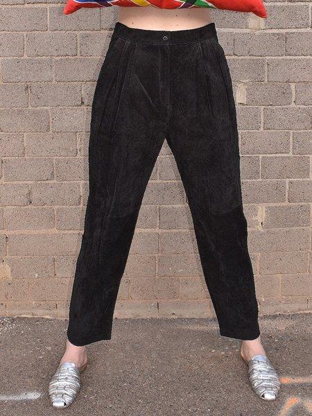 Vintage Noons Suede Pants