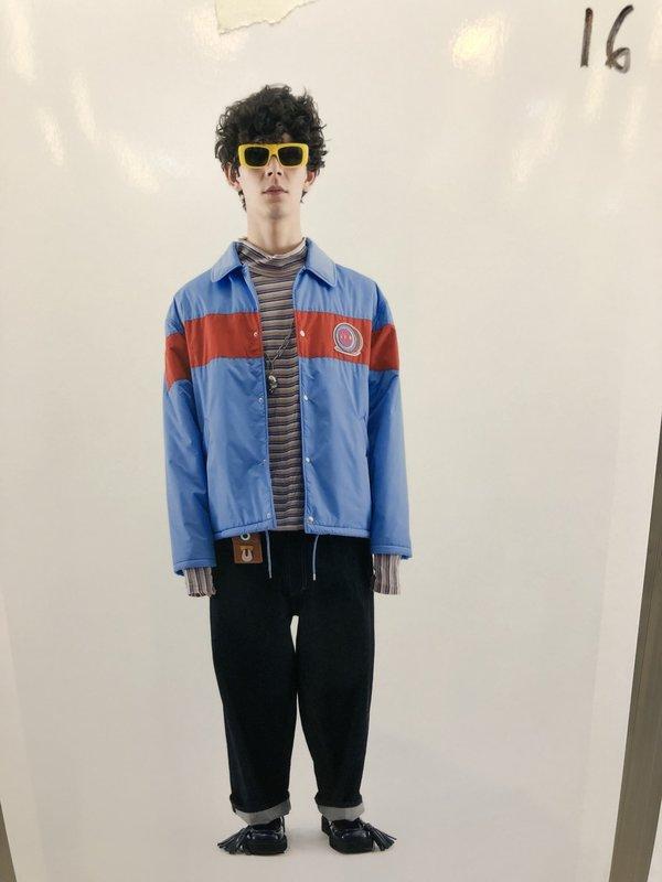 Marni Mock Neck Long Sleeve Shirt - Stripe