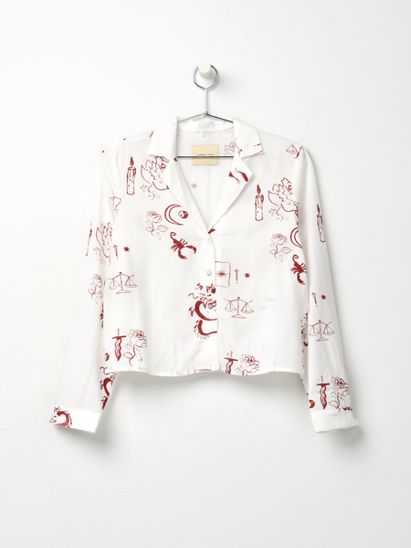 Paloma Wool TAROT SHIRTS - Off white