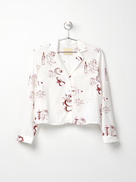 Paloma Wool TAROT SHIRTS - Off white