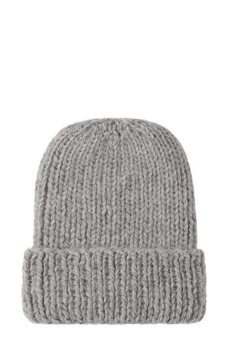 Lynn & Lawrence Classic Frosty Wax Beanie - Light Grey