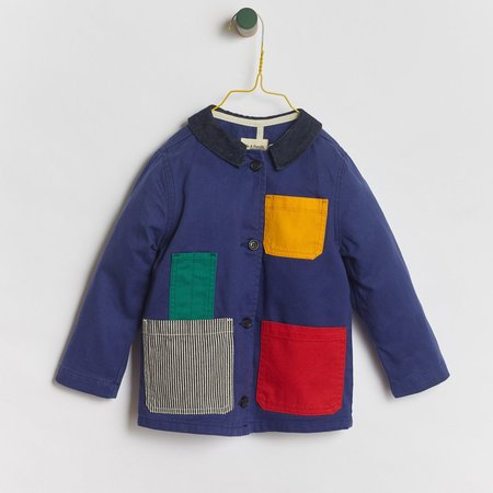 Kids We A Family Pablo Jacket - Blue