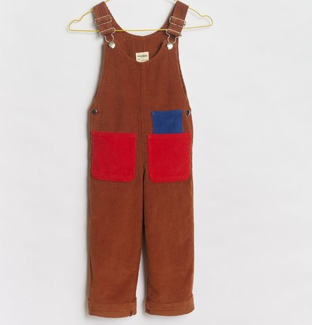 KIDS We A Family Sonia Corduroy Dungaree Overalls