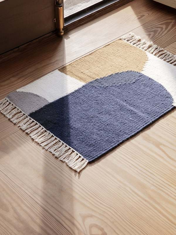 Ferm Living Kelim Merge mat - Multi