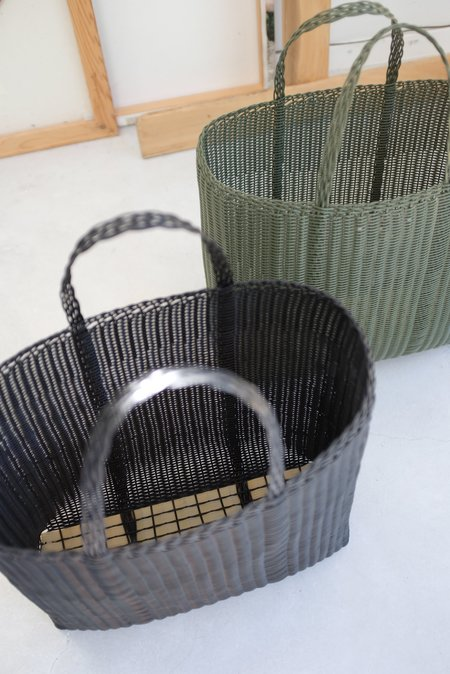 Palorosa Large Handwoven Flat Basket