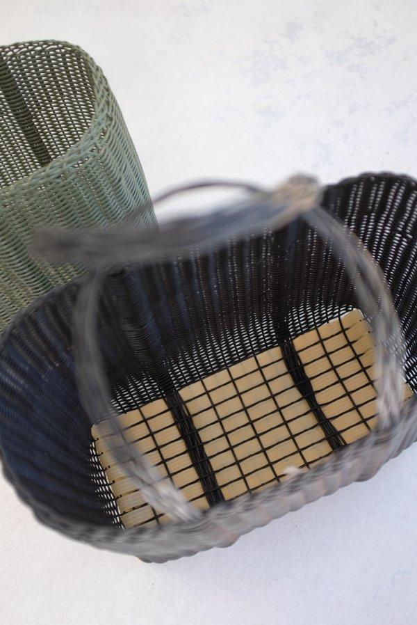 Palorosa Small Handwoven Flat Basket