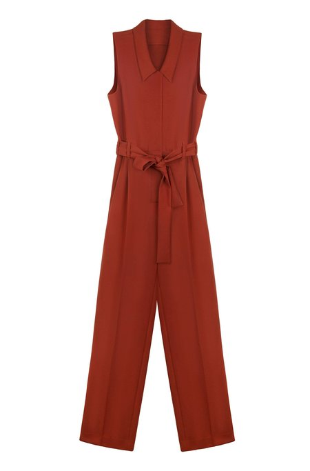 Wray Collette Jumpsuit - Rust