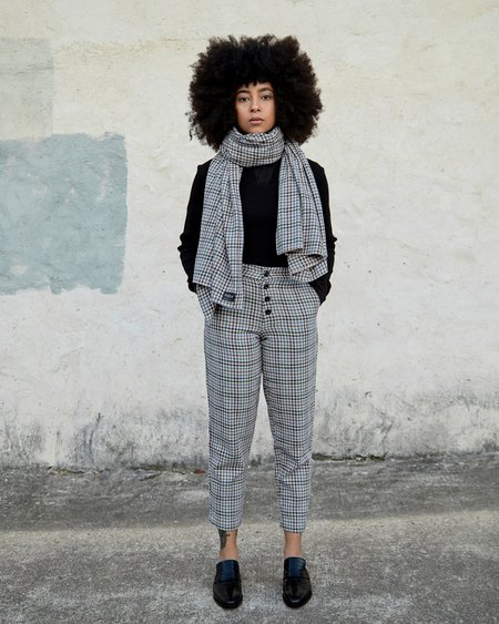 Esby Dylan Scarf - Midnight Vintage Check