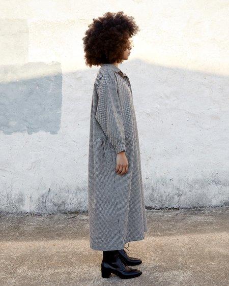Esby Hazel Dress - Coal Gingham