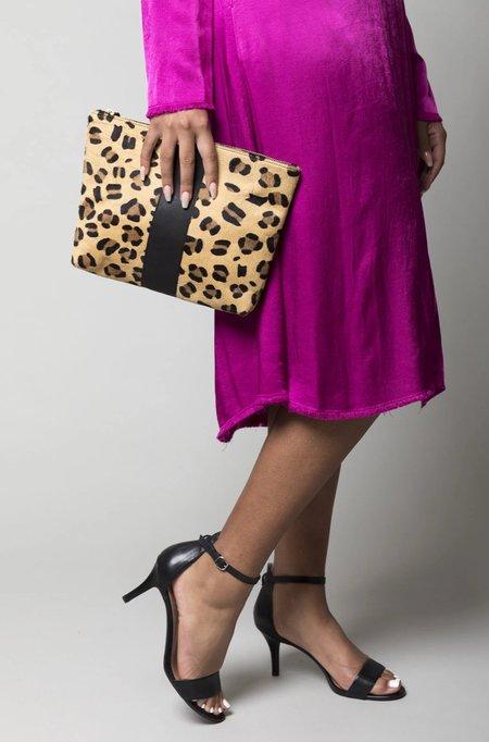 Kempton & Co Medium Pouch - Leopard