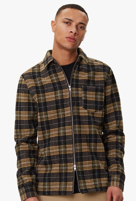 Legends Cardiff Shirt - Yellow/Black Check
