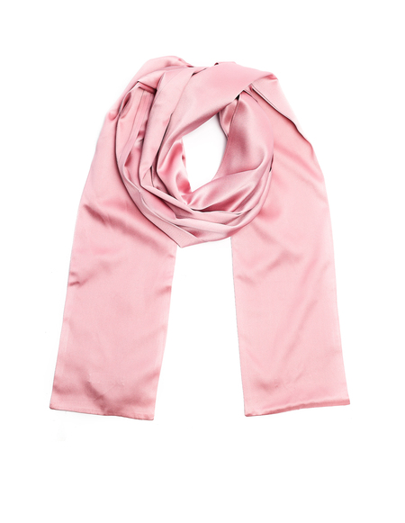 Undercover Silk Scarf - Pink