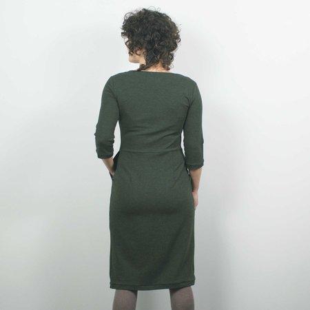 Atelier b. Jersey Dress - Forest Green