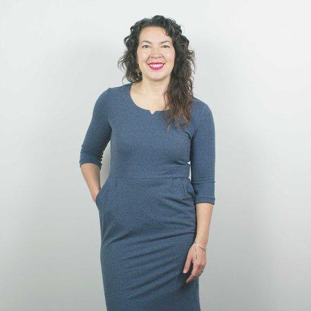 Atelier b. Jersey Dress - Heather Blue