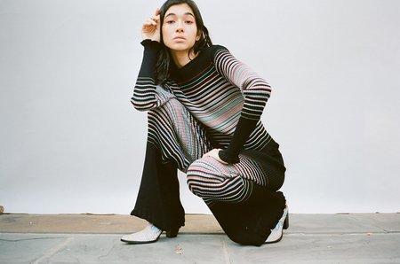 Julia Heuer Dennis Top - Black/Stripes
