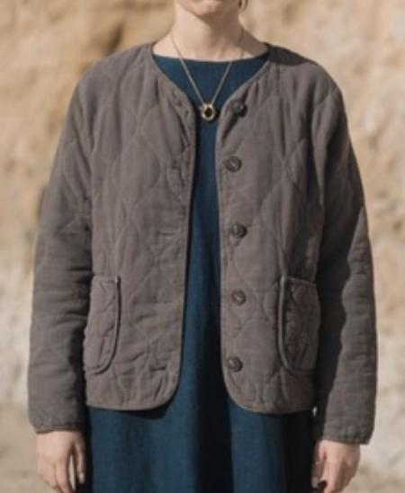 Filosophia Kayla Quilted Jacket - Pebble