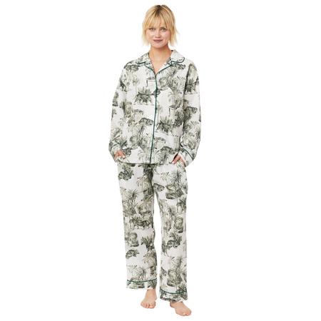 Cat's Pajamas Tiger Toile PJs