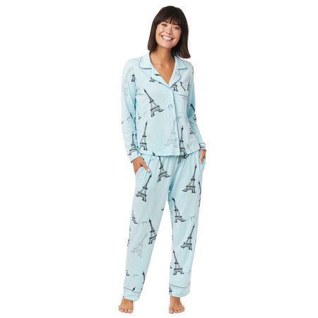 Cat's Pajamas Eiffel Tower Knit PJs