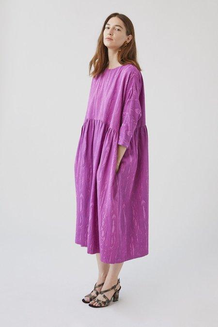 Rachel Comey Oust Dress - Orchid Moire Jacquard