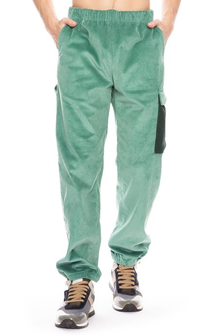 Acne Studios Payden Cord Trousers - Dusty Green