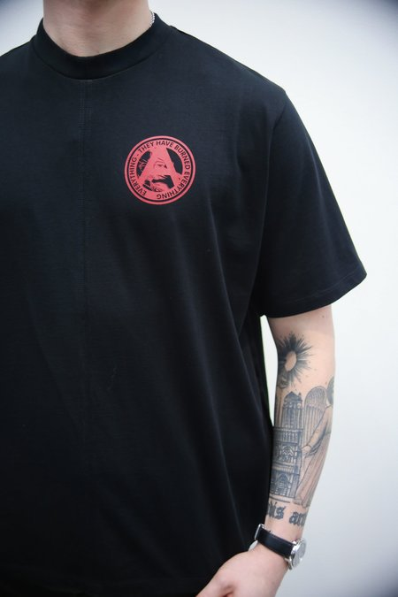 Komakino Clockwork Jersey T-Shirt - Black