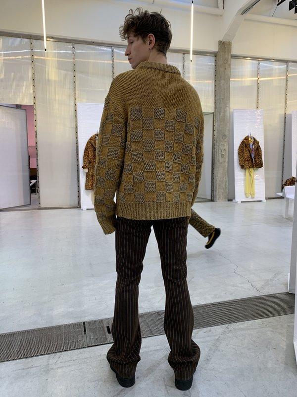 Marni Flared Striped Trouser