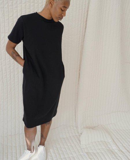 TEXTILEHAUS T Shirt Dress - Black