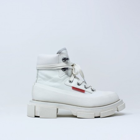 Both GAO MID BOOT - White