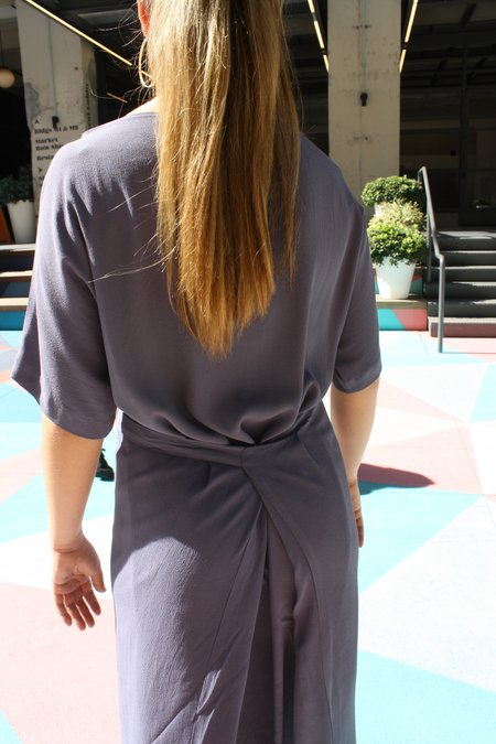 Myrtle Dodge Dress - Periwinkle