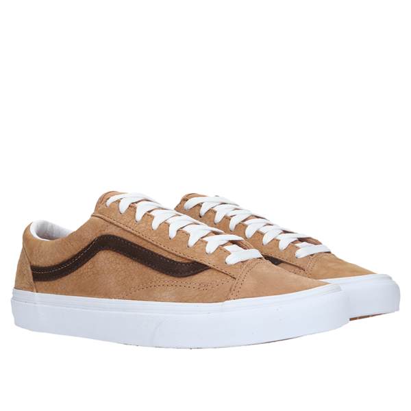 VANS Old Skool Grain Leather Style 36 Sneakers - Camel