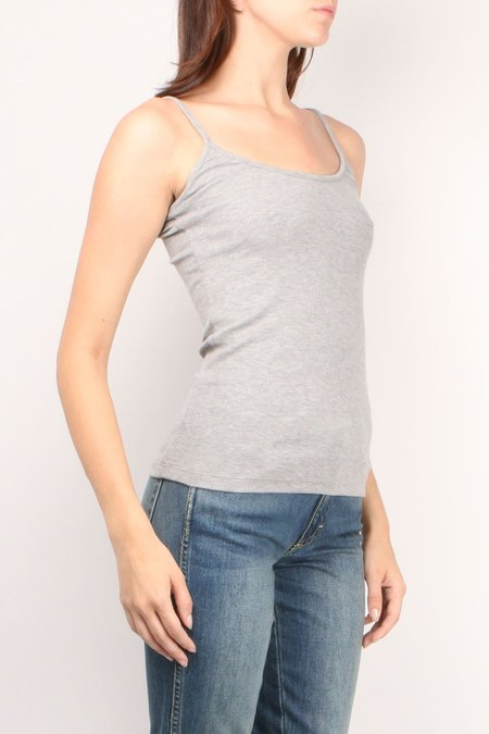 GOLDIE Ribbed Cami - Gray Heather