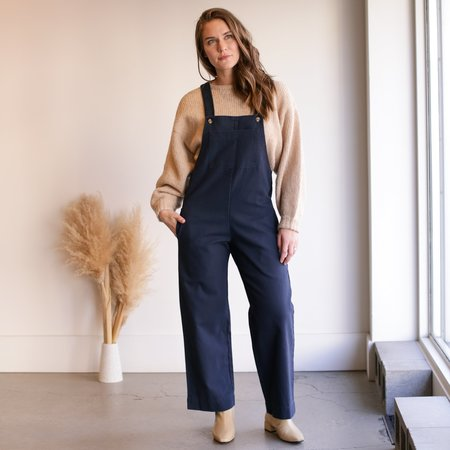 Me and Arrow Overall - Navy Canvas
