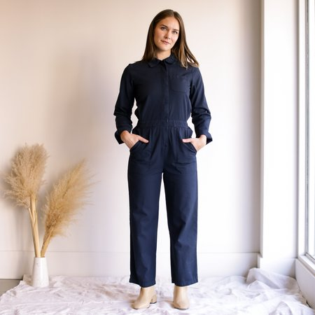 Lacausa Phoenix Jumpsuit - Navy